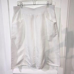 Christopher & Banks linen skirt